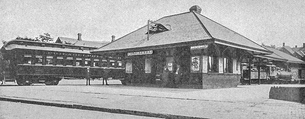 Philadelphia Amp Reading Rr Passenger Station Milton Pa